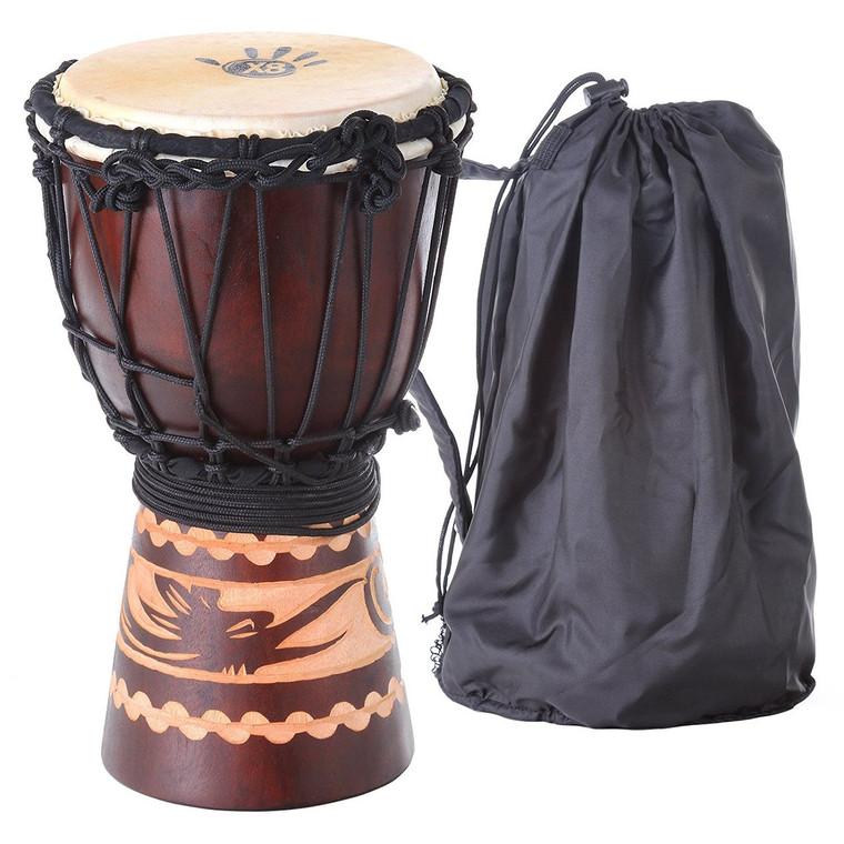 X8 Drums XS Kalimantan Djembe with Bag