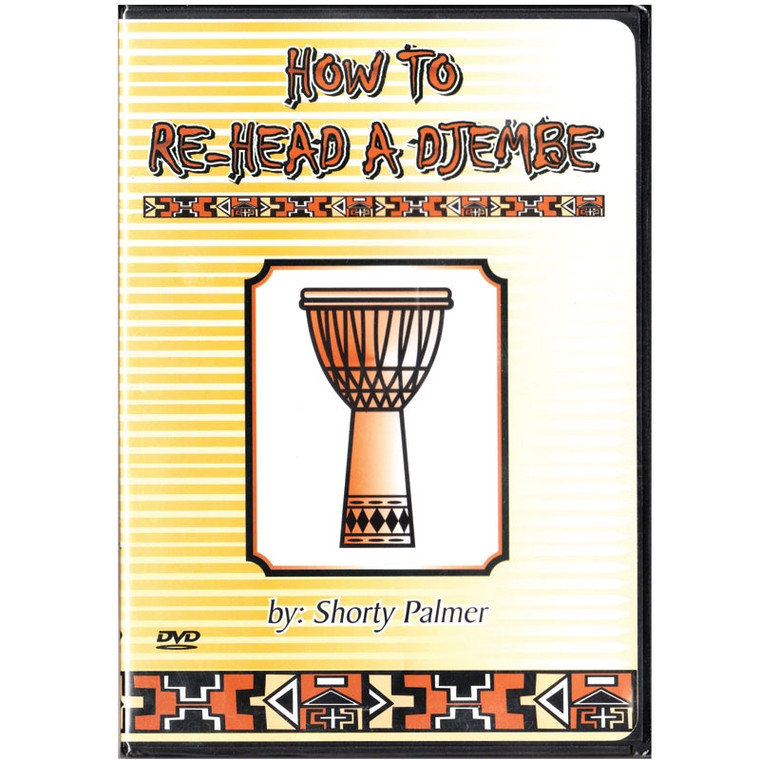 How to Re-Head a Djembe - DVD
