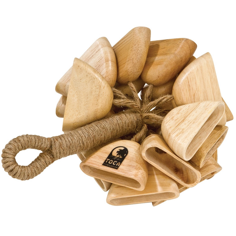 Toca Wooden Rattle on Handle