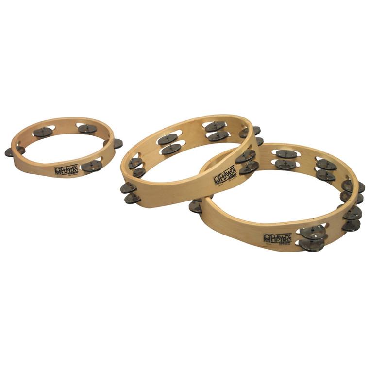 Toca Player's Series Wood Tambourines