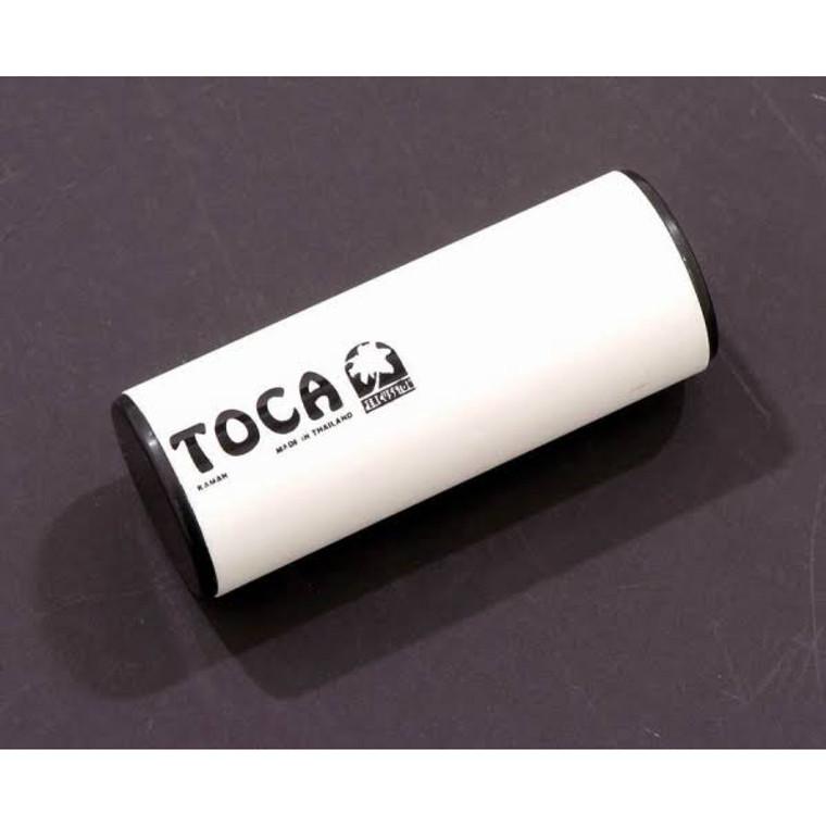 """Toca T2005 5"""" Round PVC Shaker, White"""