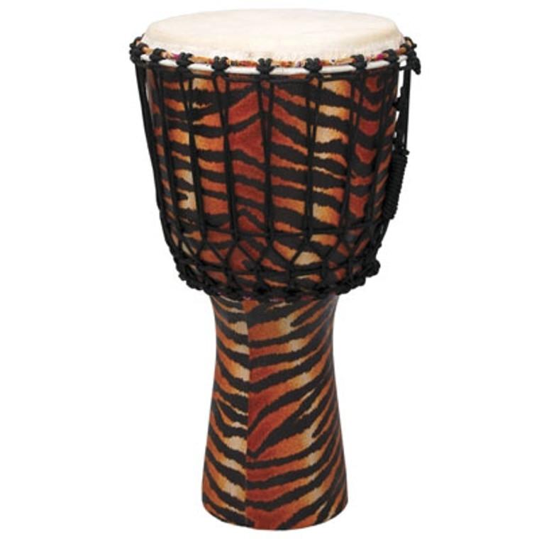 Tycoon Percussion Master Fantasy Tiger Djembe