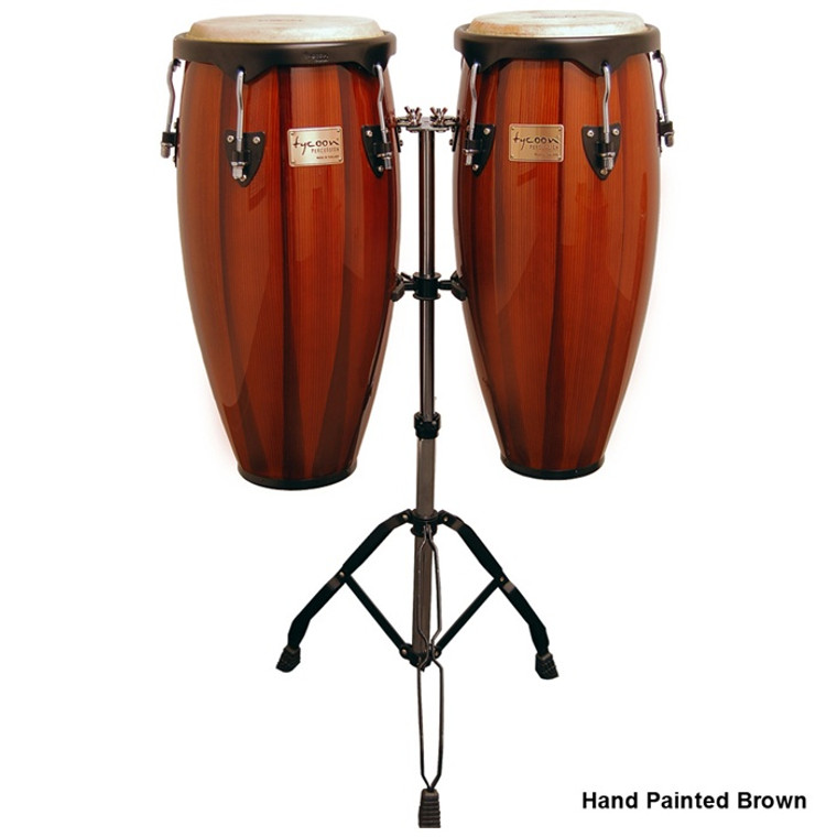 Tycoon Percussion Artist Series Conga Set with Double Stand
