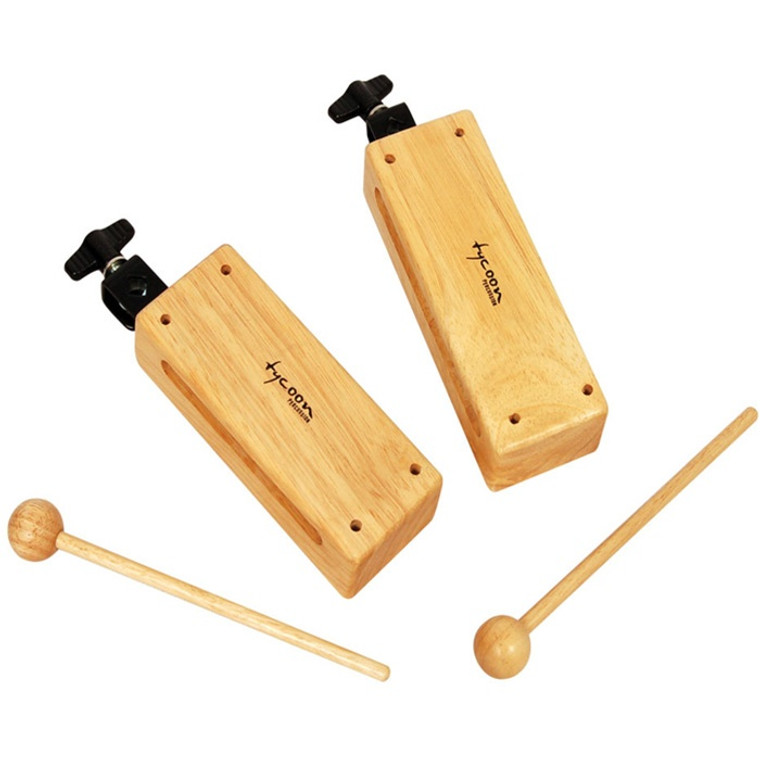 Tycoon Percussion Mountable Wood Blocks