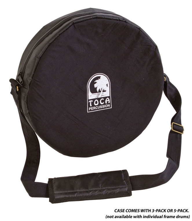 Toca Freestyle Frame Drums - 3 Pack with Bag