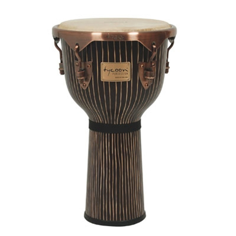 Tycoon Percussion Master Hand Crafted Pinstripe Djembe
