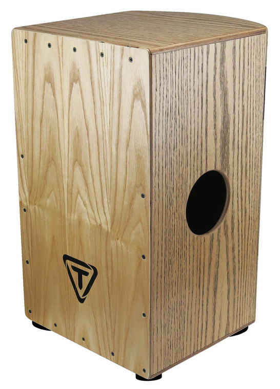 Tycoon Roundback Series Cajon with Red Oak and American White Ash