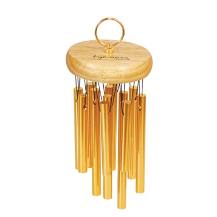 Tycoon 18 Gold-Plated Chimes on Siam Oak Bar