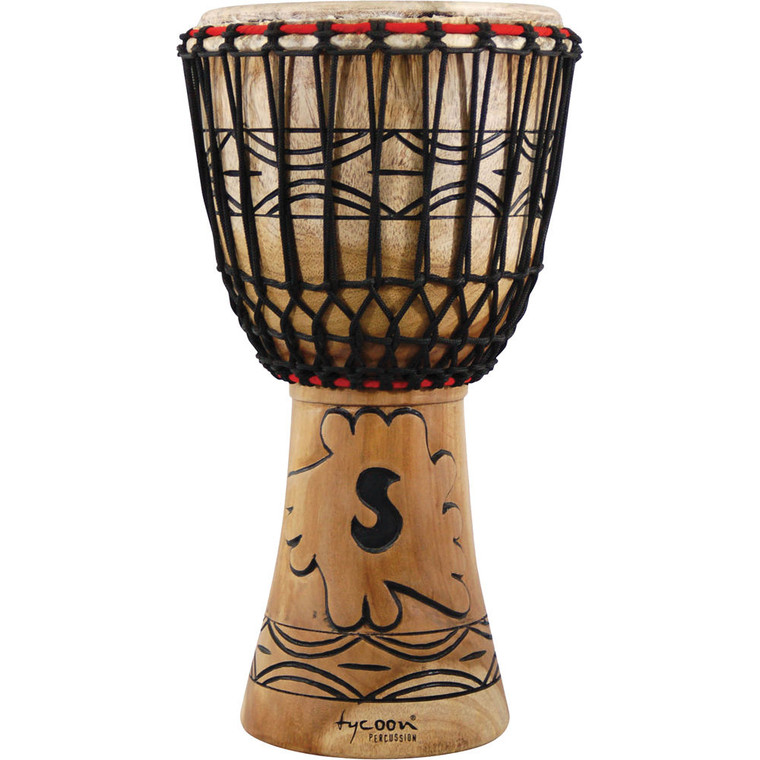"""Tycoon Percussion 12"""" Traditional Series African Djembe"""