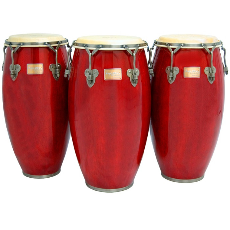 Tycoon Percussion Signature Classic Series Conga with Stand, Red