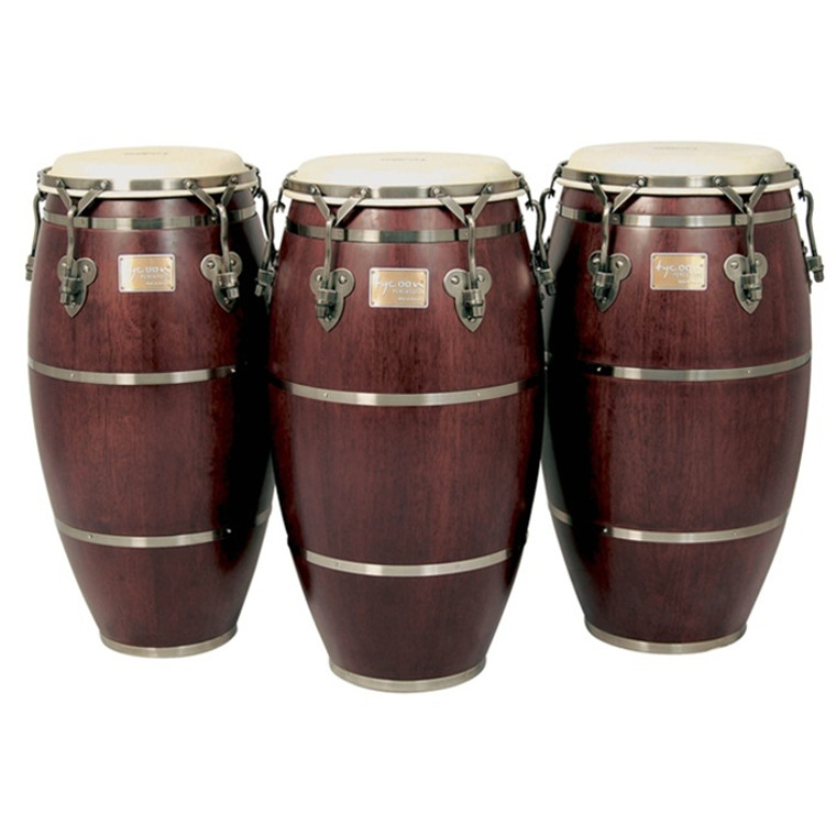 Tycoon Percussion Signature Heritage Series Congas with Free Stand