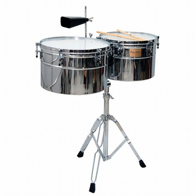 Deep-Shell Timbales by Tycoon Percussion
