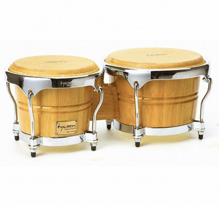 Tycoon Percussion Concerto Series Bongos, Natural