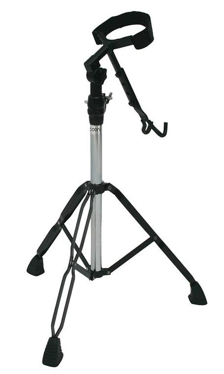 Tycoon Black Powder-Coated Standard Djembe Stand