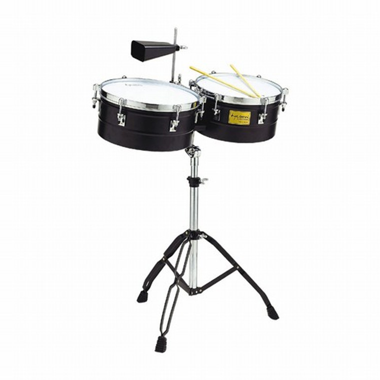 """Tycoon Timbales, Black, 13"""" & 14"""""""