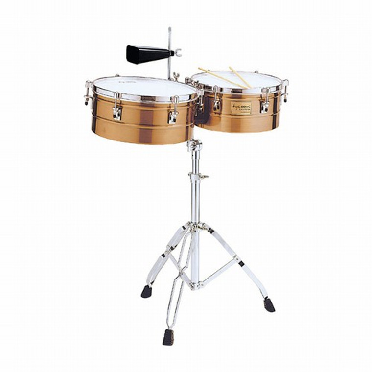 """Tycoon Timbales, Antique Copper, 14"""" & 15"""""""