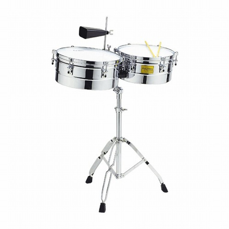 """Tycoon Timbales, Chrome, 14"""" & 15"""""""