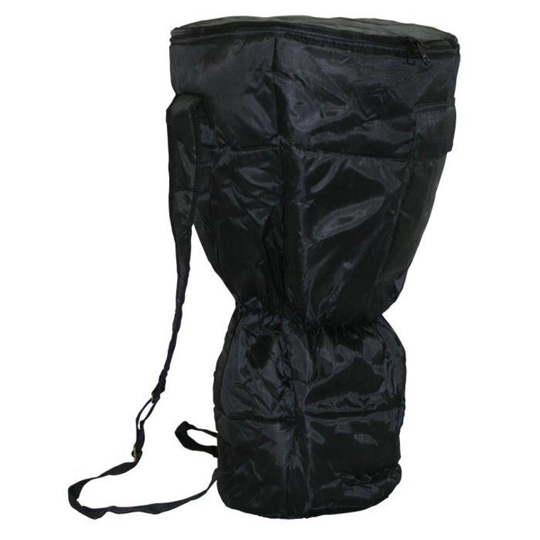 XXL Waterproof Djembe Bag, Padded Black Nylon (For 14x26 Djembes)