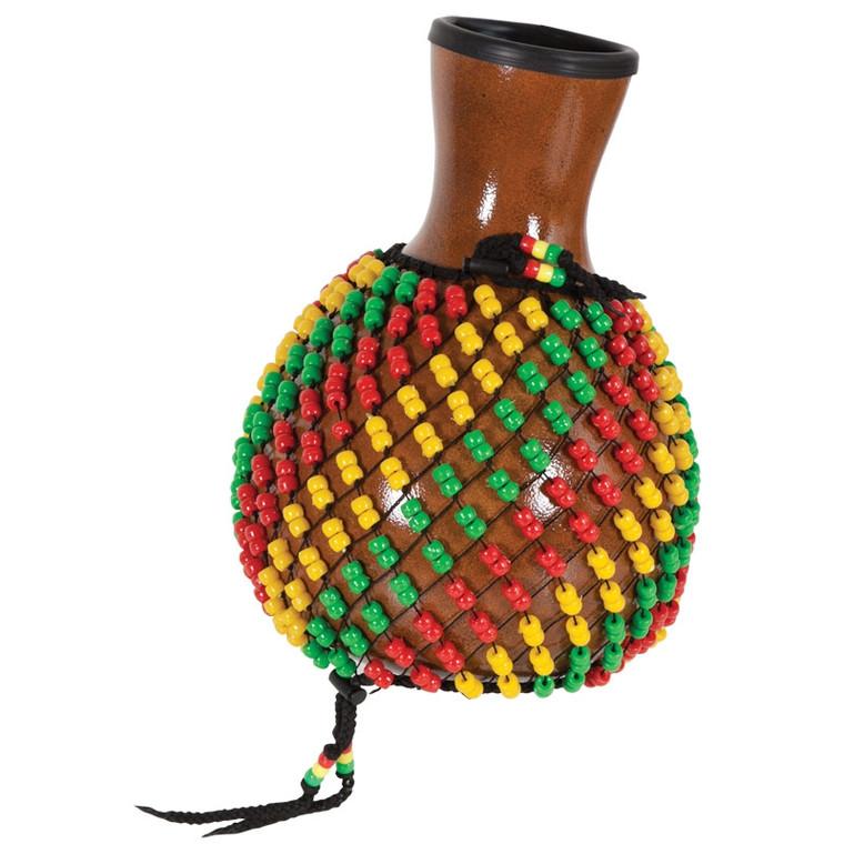X8 Drums Fiberglass Shekere - Rasta Beads
