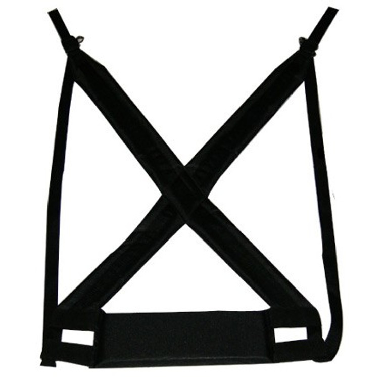 X8 Drums Professional Padded Djembe Strap, Black