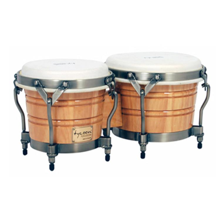 Tycoon Percussion Signature Classic Natural Bongos
