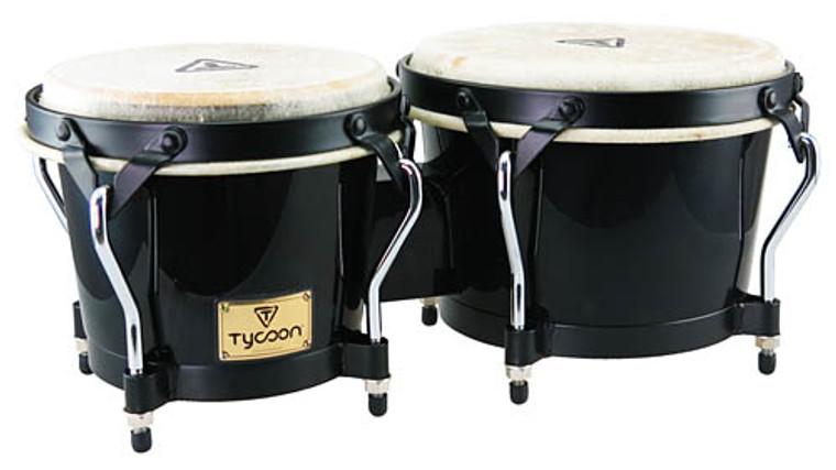 Tycoon Percussion Supremo Series Black Bongos