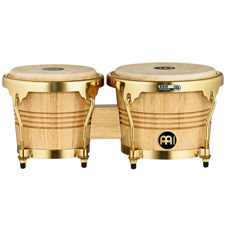 Meinl Wood Bongos with Buffalo Heads - Gold Hardware