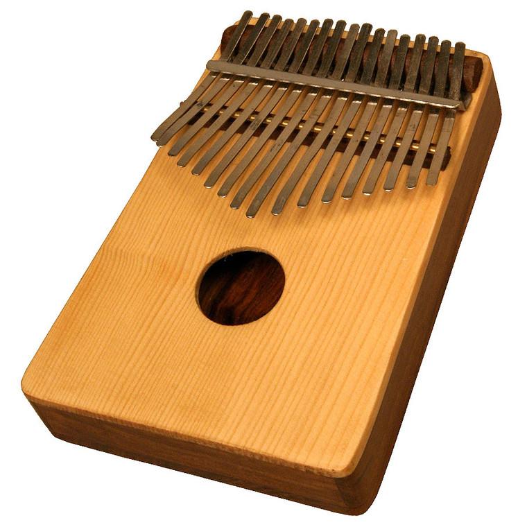 17-Key Kalimba Thumb Piano with Spruce Top
