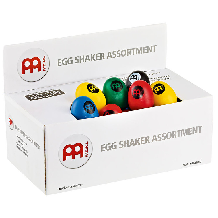 Meinl Egg Shaker Assortment Box, 60 Egg Shakers