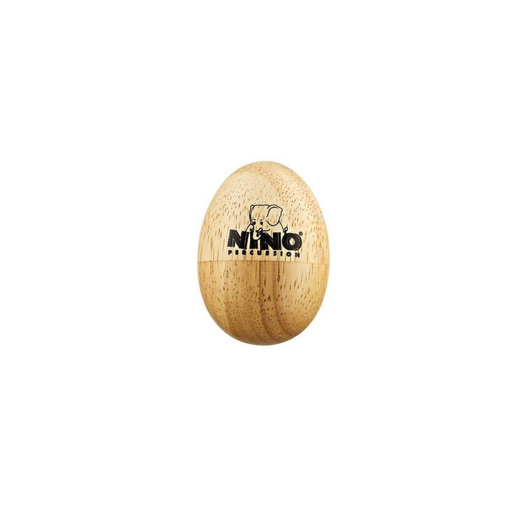 Natural Wood Egg Shaker, Small
