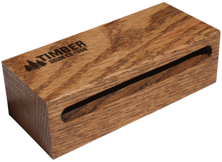 "Timber Drum Company Small American Hardwood Wood Block (6""x2.5""x1.625"")"