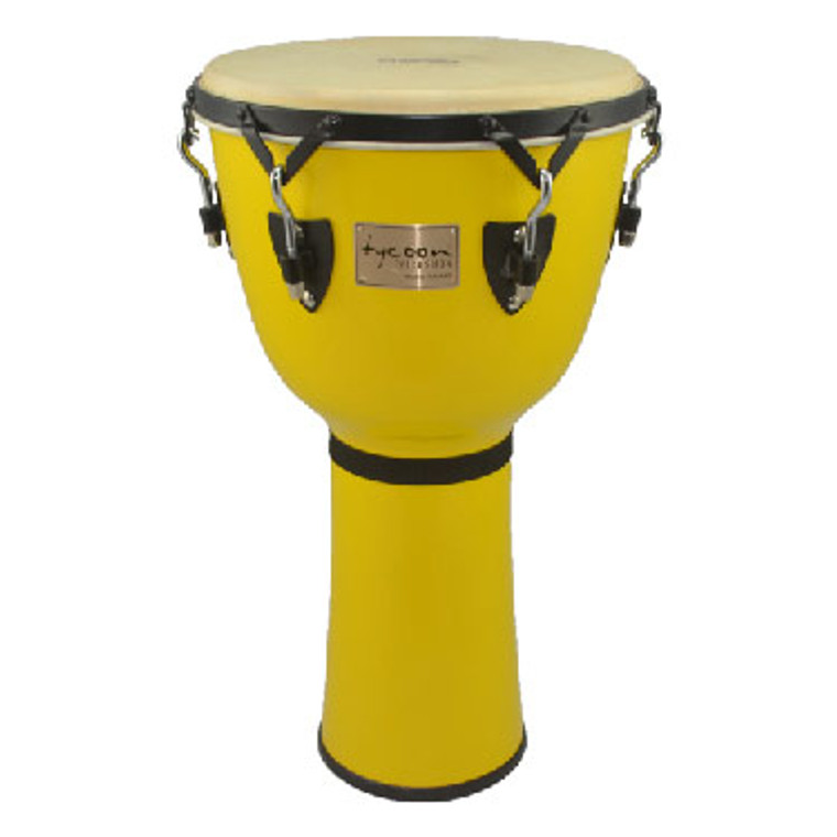 Tycoon Percussion Canary Burst Key-Tuned Djembe