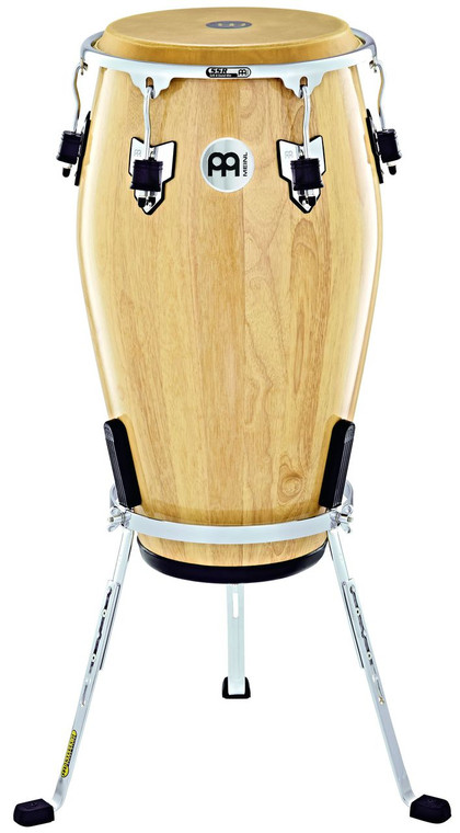 """Meinl Percussion Marathon Exclusive Series 12"""" Conga , W/Stand/Chrome Plated Hardware"""