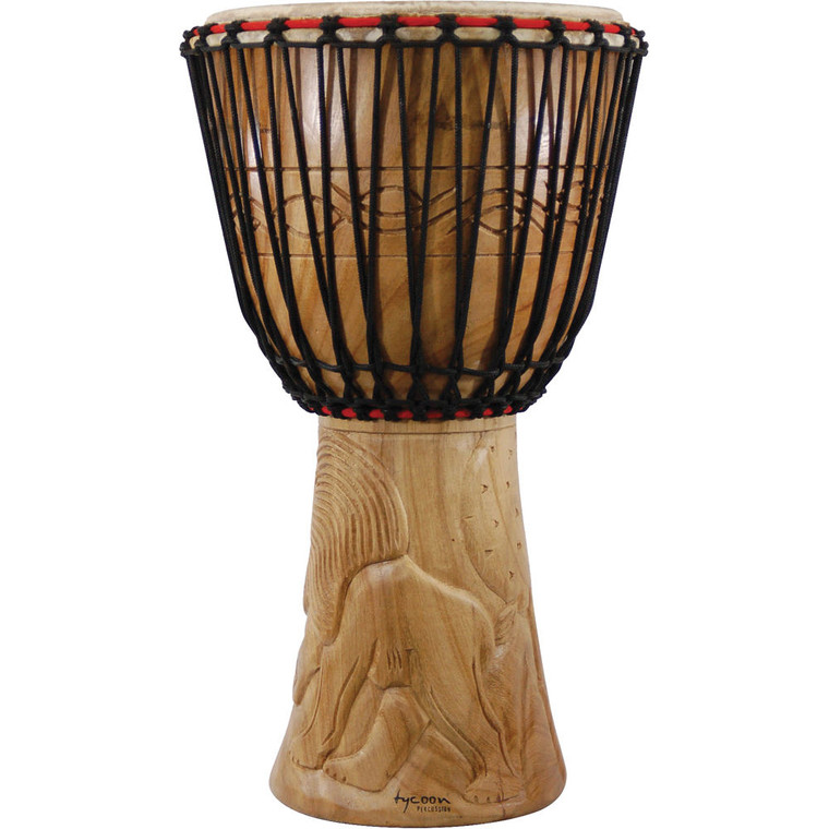 """Tycoon Percussion 14"""" Traditional Series African Djembe"""