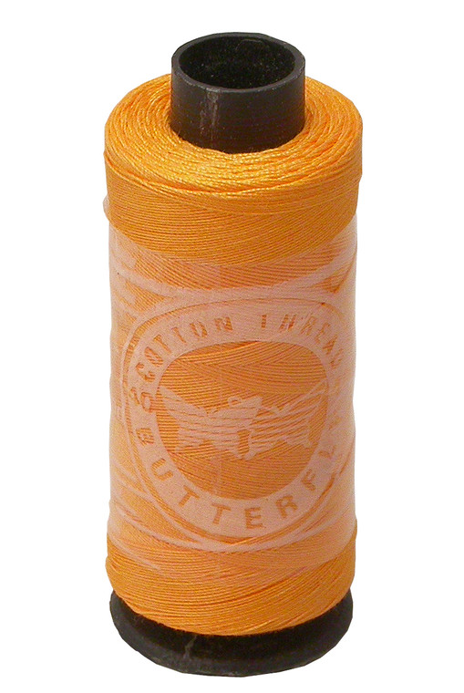 Roosebeck Combed Cotton on Spool - Yellow
