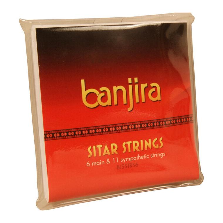 banjira 6-String Sitar String Set