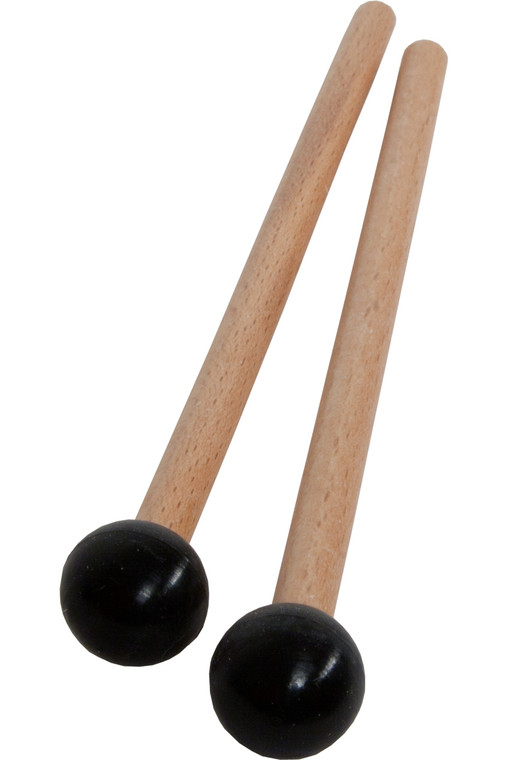 Idiopan 7-Inch Mallets with .7-Inch Ball - Pair - Black