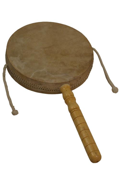"DOBANI Monkey Drum w/ Handle 8"""