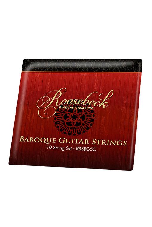 Roosebeck 5-Course Baroque Guitar String Set