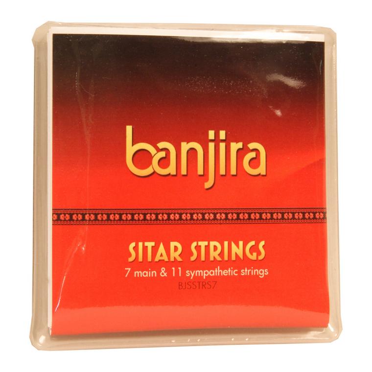 banjira 7-String Sitar String Set - Light