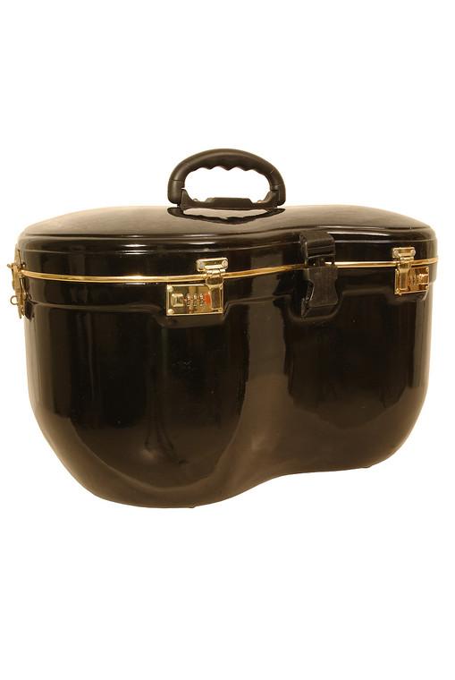 banjira Locking Fiberglass Case for Tabla Set - Black