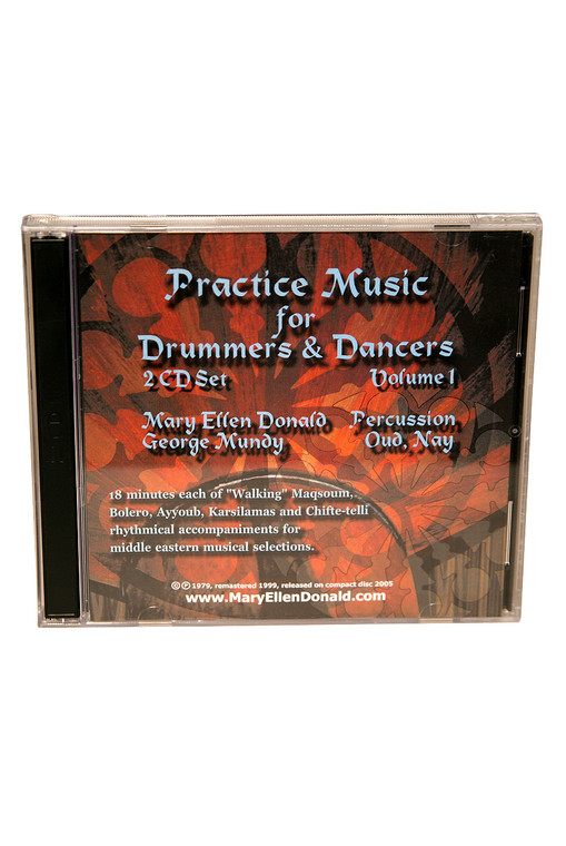 Practice Music for Drummers and Dancers CD Volume 1 by Mary Ellen Donald