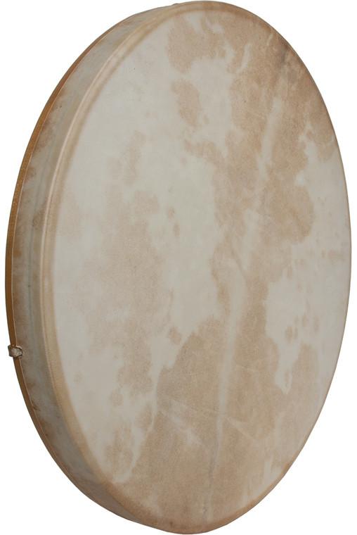 "DOBANI Tunable Goatskin Head Wooden Frame Drum w/ Beater 22""x2"""