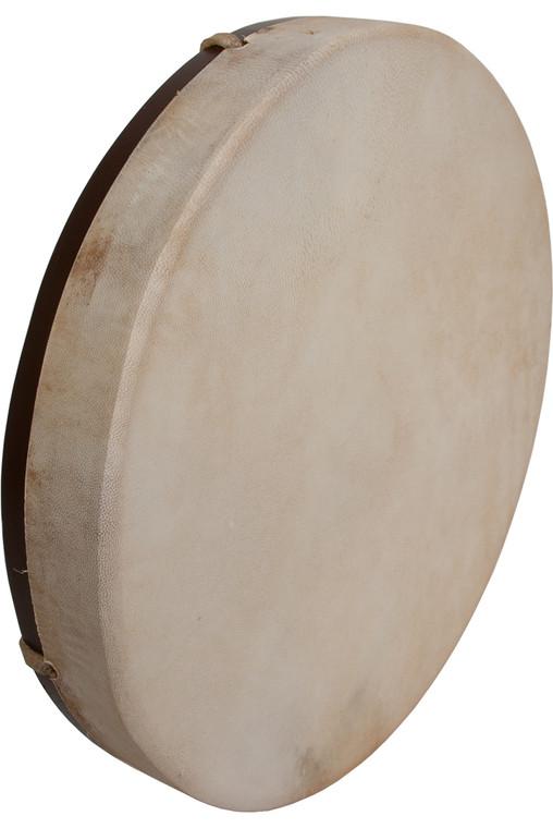 "DOBANI Pretuned Goatskin Head Wood Frame Drum w/ Beater 14""x2"""