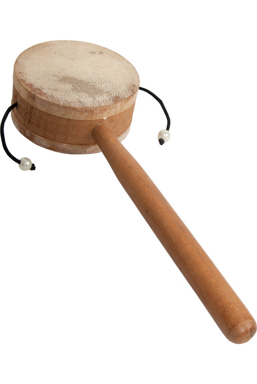 "DOBANI Monkey Drum w/ Handle 3.25"""