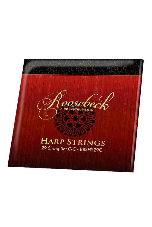 Roosebeck Harp 29-String Set C - C