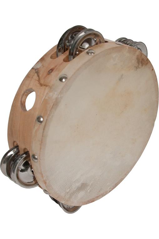 """DOBANI Featherweight Tambourine 7"""""""
