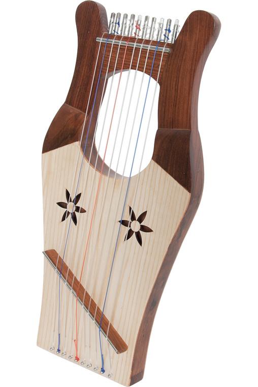 Mid-East Mini Kinnor Harp - Light
