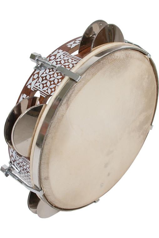 "Mid-East Tunable Tambourine 8.5"""