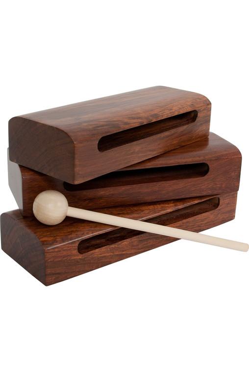 DOBANI Sheesham Tone Blocks w/ Beater 3-Piece